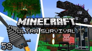 Minecraft: Ultra Modded Survival Ep. 58 - SPACE DUNGEON!
