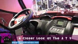 10. Kymco UXV 450i Utility ATV 2017