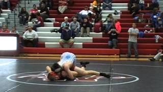 Mark Fiegenbaum Odessa vs Derek Williams Bolivar 145 lbs