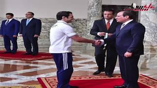 الرئيس السيسي ينتصر للكفأة ويكرم أبطال من ذهب