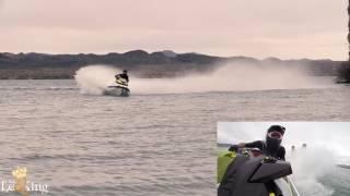 7. Stock 2017 Seadoo RXP-X 300 Race Sponsons Test On Closed Course, Lake Havasu City