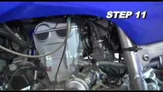 1. 2004 - 2009 Yamaha YFZ450 K&N Air Intake Installation