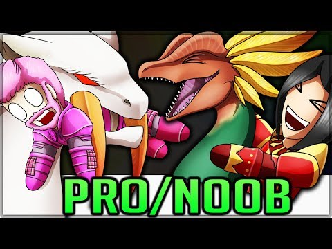 ULTIMATE NEW MONSTERS - Pro and Noob VS Monster Hunter Generations Ultimate! #generationsultimate