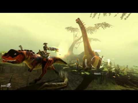 Dino Storm T-Rex teaser Trailer - MMO HD TV (720p)