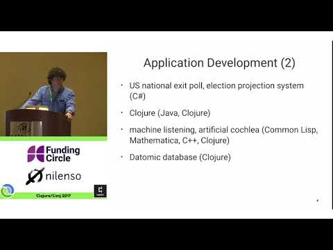 Effective Programs - 10 Years of Clojure - Rich Hickey