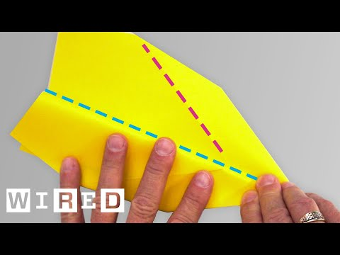 How to Fold the 'Phoenix' Paper Airplane   WIRED