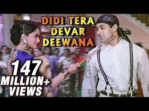 Didi Tera Devar Deewana – Madhuri Dixit, Salman Khan – Bollywood Superhit Song – Hum Aapke Hain Koun