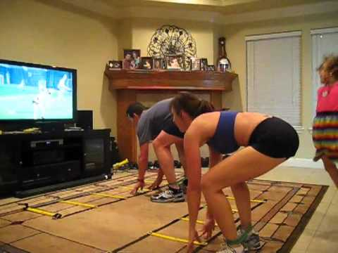 Insanity The Asylum ~ Vertical Plyo the HARDEST workout ever!!!  ~ Day 9