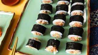 Sushi rolls de atún