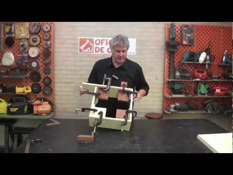 Jig 90º -  Dispositivo para prender peças em ângulo