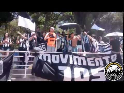 Movimento 105 - Dale eô (Galo x Pontenovense no Infantil e Juvenil) - Movimento 105 Minutos - Atlético Mineiro