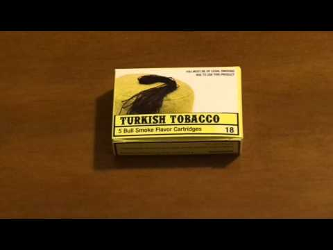 Bull Smoke Turkish Tobacco Cartridge | Bull Smoke Turkish Tobacco Flavor