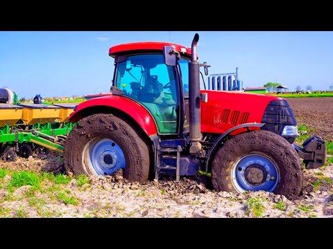 ТРАКТОР В ГРЯЗИ настоящий трактор БОЛЬШАЯ МАШИНА В ГРЯЗИ трактор видео СПЕЦТЕХНИКА ДЛЯ ДЕТЕЙ (видео)