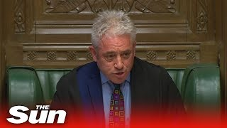 Remainer Bercow bans third meaningful vote unless substantial changes