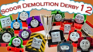Video Sodor Demolition Derby 12 | Thomas and Friends Trackmaster | Last Engine Standing MP3, 3GP, MP4, WEBM, AVI, FLV Januari 2019
