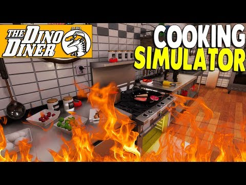 $$$ I BURNED DOWN An EXPENSIVE RESTAURANT In SECONDS | Cooking Simulator Gameplay