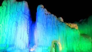 北海道観光映像(層雲峡氷瀑まつり)