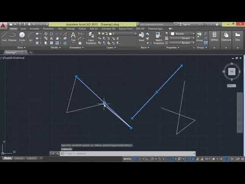 MP4 720p AutoCad 2D&3D Tutorials in Urdu Hindi   Part 3 Using Line Tool