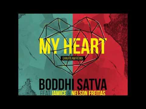 BODDHI SATVA feat Jamice & Nelson Freitas - MY HEART (ganateam remix)