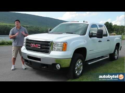 2012 GMC Sierra 3500HD: Video Road Test and Truck Review