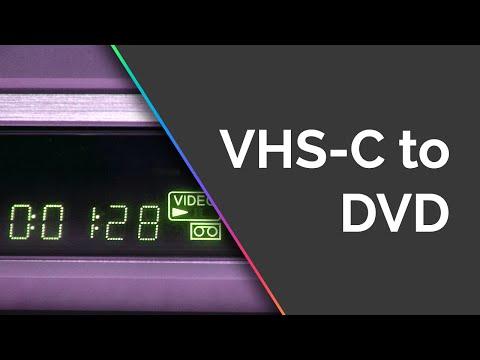 VHS-C to DVD Conversion - Krazy Ken's Tech Misadventures