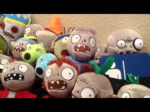 Plants Vs Zombies Plush Collection UPDATED AGAIN