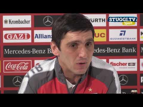 Wie VfB-Trainer Korkut beim Angstgegner FC Augsburg ...