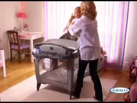 Манеж Graco Contour Electra HIDE AND SEEK (оранжевый)