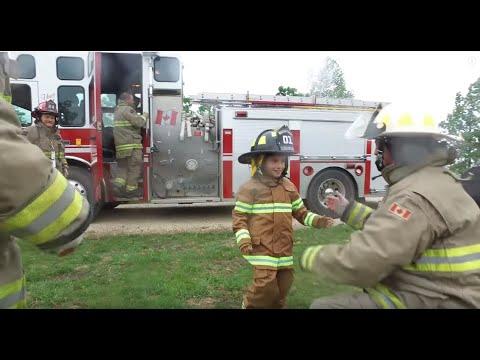 Brayden's Make-A-Wish -  Hanover Fire Dept