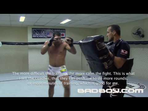 Mauricio Shogun Rua trains for the Belt UFC 113