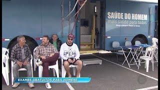 Sorocaba: projeto Ônibus Azul percorre a cidade levando exames de graça para os homens
