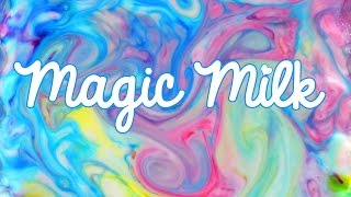 Magic Milk ! Have you tried this? - YouTube