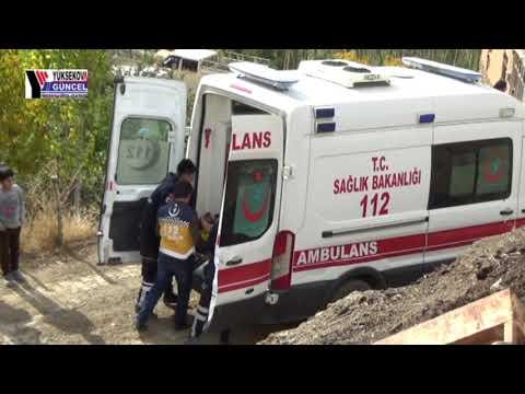 Yüksekova'da inşaat çöktü: 1'i ağır 6 yaralı