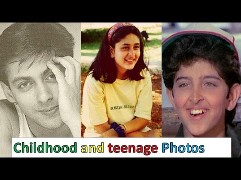 Bollywood Celebrities Rare Childhood and teenage Photos👍