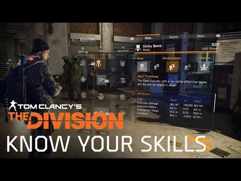 Tom Clancy's The Division – Know your Skills – HD Gameplay Trailer
