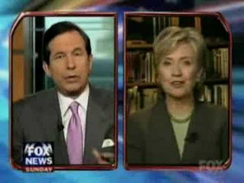 Watch Hillary Clinton Appear to Be High During An Interview With Chris Wallace