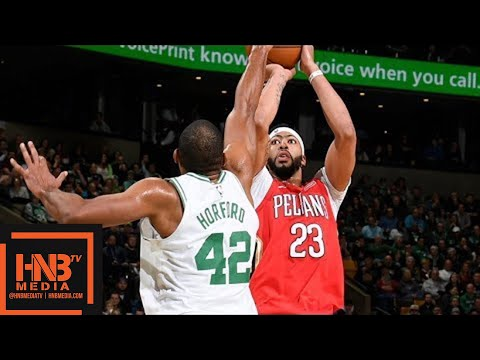 Boston Celtics vs New Orleans Pelicans Full Game Highlights / Jan 16 / 2017-18 NBA Season (видео)