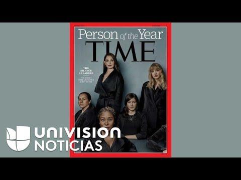 """Time reconoce como Persona del Año 2017 """"a quienes han roto el silencio"""" al denunciar abusos sexuale"""