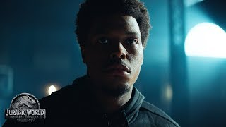 VIDEO: JURASSIC WORLD: FALLEN KINGDOM – 'Kyle Lowry Finds a Way' Clip