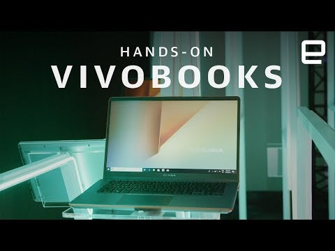 ASUS VivoBooks Hands-On at Computex 2018