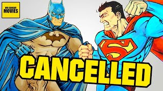 Cancelled BATMAN V SUPERMAN Original Script (Batman VS Superman 2004)