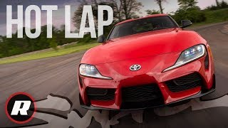 Hot lap in the new 2020 Toyota Supra by Roadshow