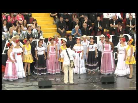 Concierto Final CANTAPUEBLO 2014 - 50 aniversario de la creación de la Misa Criolla видео