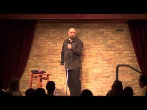 Comedian Bill Blank - Do you believe in ghosts?  Really?!