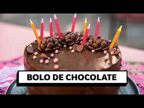 Bolo Simples e Perfeito de Chocolate   O Chef e a Chata   Lu Ferreira