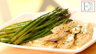 Learn how to make my easy Chicken Dijon Recipe with sautéed asparagus. A perfect weeknight meal or elegant dinner while party planning! SUBSCRIBE to my ...