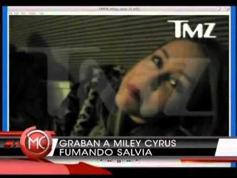 NOTICIA: Miley Cyrus drogandose