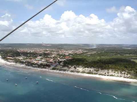 Vôo panorâmico na praia do Francês. Maceió - Alagoas