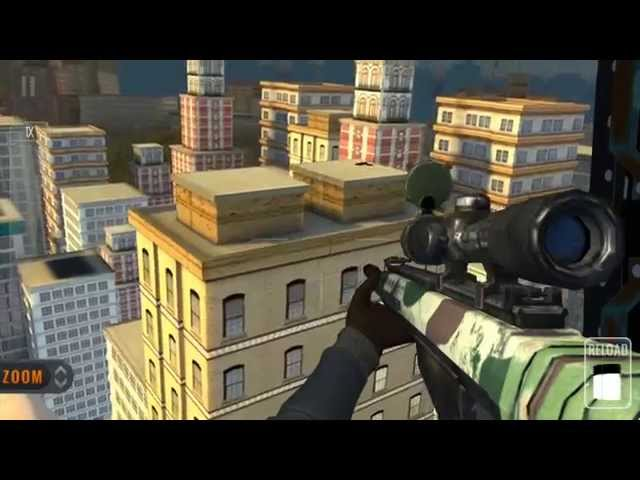 Видео к игре Sniper 3D Assassin