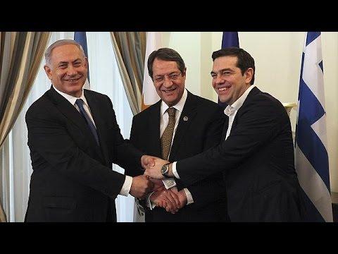 Κύπρος-Ελλάδα- Ισραήλ: Κοινή διακήρυξη για την ενέργεια